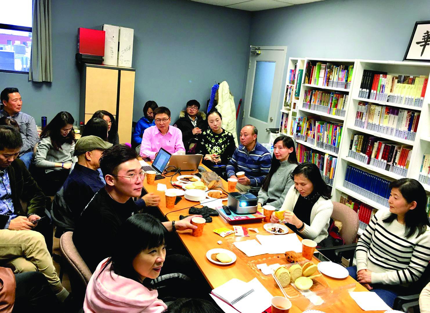 金猪吉祥迎新年春晚群星耀舞台——加中文化艺术协会召开2018 第五次全体理事会工作会议