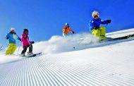 高山滑雪忙——《健身贵在全民》系列之七